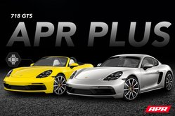 APR Plus Now Available for the 718 Boxster/Cayman GTS 2.5T