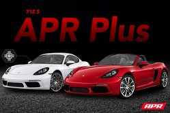 APR Plus Now Available for the 718 Boxster/Cayman S 2.5T