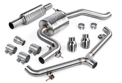 APR MK6 Catback Exhaust System with Front Resonator