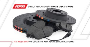 APR Direct Replacement Brake Discs and Pads