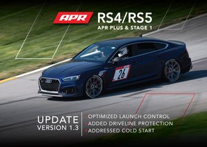 APR B9 RS4 and RS5 V1.3 ECU Update for APR Stage 1 and APR Plus