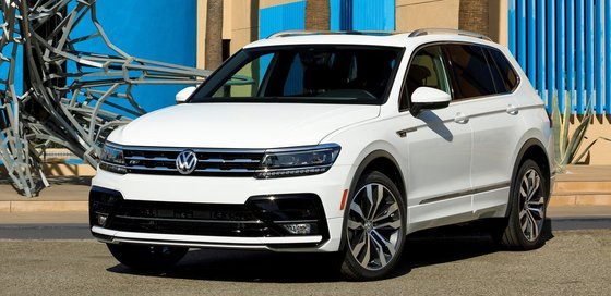 Volkswagen Tiguan And Limited Parts Apr