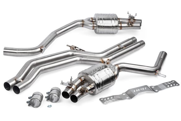 CBK0010 - APR Catback Exhaust System - 4.0 TFSI - C7 RS6 and RS7 Image
