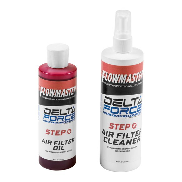 615001 - Flowmaster Delta Force Air Filter Cleaner Image