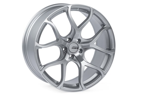 WHL00008 - APR A01 Flow Formed Wheels (20x9.0) (Hyper Silver) (1 Wheel) Image