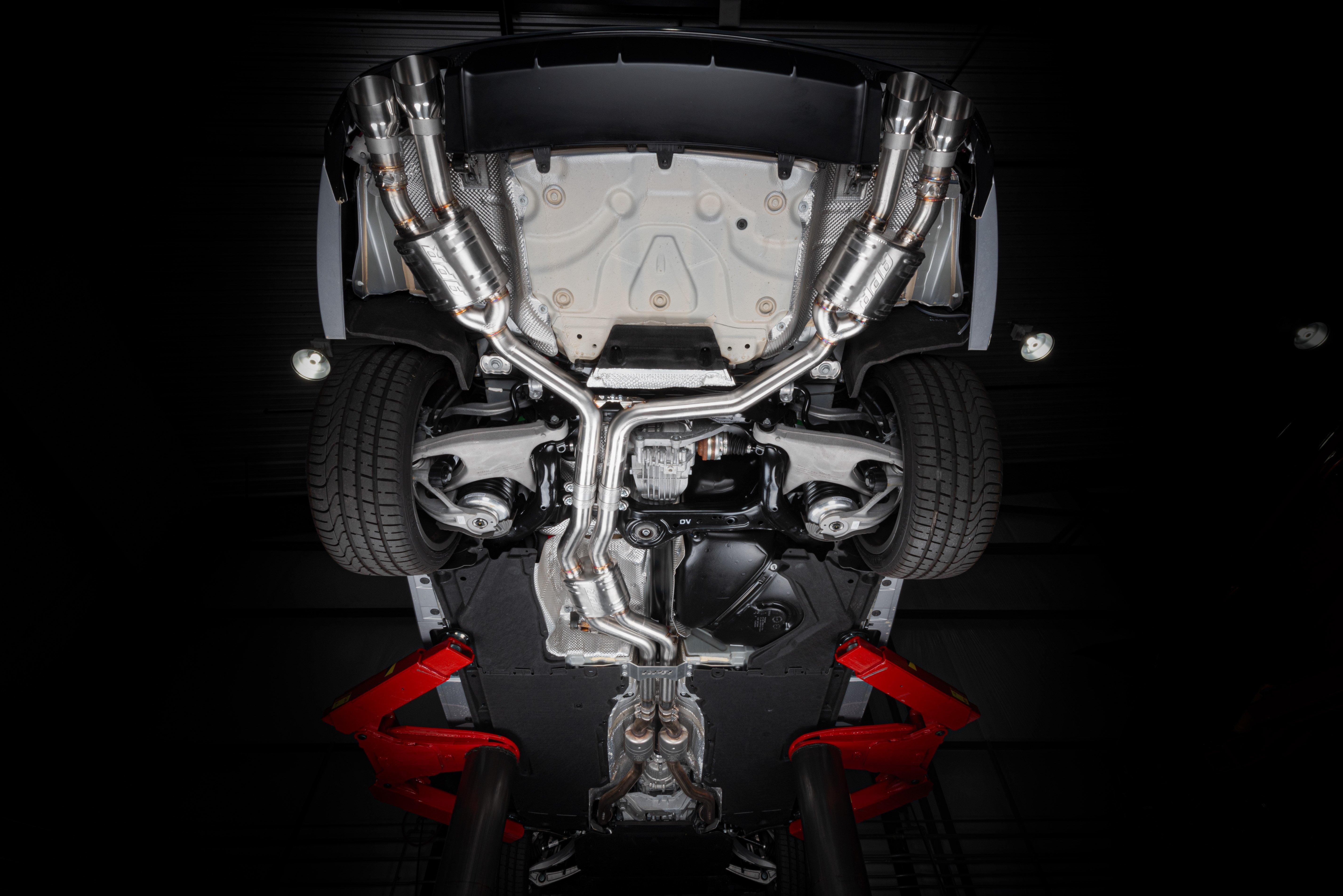 APR C7 / C7 5 S6 / S7 4 0 TFSI Catback Exhaust System